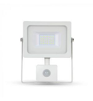 Projecteur LED 20W Blanc avec détecteur