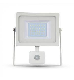 Projecteur LED 30W Blanc avec détecteur