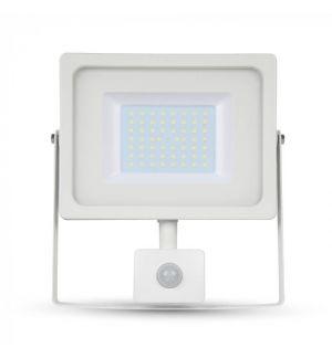 Projecteur LED 50W Blanc avec détecteur