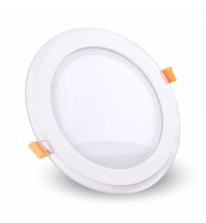 Spot LED verre rond 6W