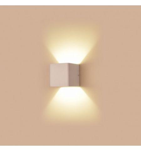 Applique Murale LED blanc cube