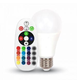 Ampoule RGB LED avec contrôleur de couleur