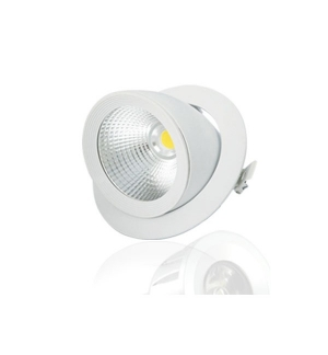 Spot LED ESCARGOT ROND