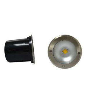 Spot LED encastre sol rond