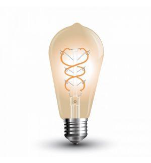 Ampoule LED E27 filament G125-S 5W