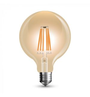 Ampoule LED filament E27 G125 Dimmable 8W
